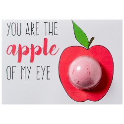 You are the Apple of my Eye carte