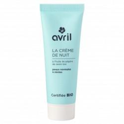 Crème de nuit peaux normales et mixtes
