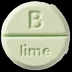 Lime Pastilles de douche