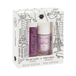 Coffret duo rollette+vernis  Lovely City