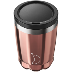 Coffee Cup Chrome Rose Gold 340ml