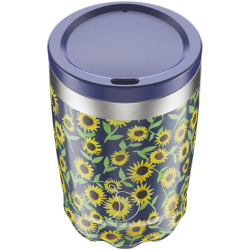 Coffee Cup Floral Sunflower 340ml