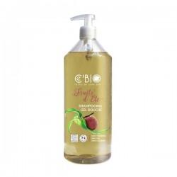 Shampoing Gel douche fruits d'été 1L