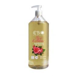 Shampoing Gel douche Bio Rose d'antan 1L
