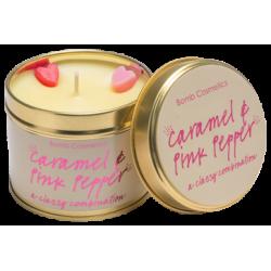 Caramel - Pink Pepper Bougie en fer