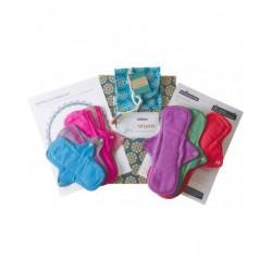 Kit de protections hygiéniques lavables